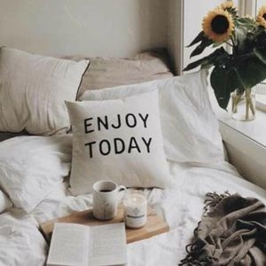 """Other - Enjoy Today 18"""" x 18"""" Accent Pillow Cover"""